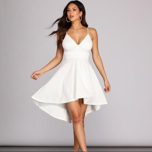 Windsor SWEPT OFF YOUR FEET HIGH-LOW DRESS